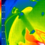 Pic with thermal camera with first new core fitted